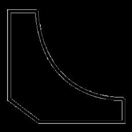Hulkehliste 15x15 mm Fyr