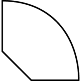 Kvartstafliste 9x9 mm Fyr