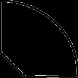 Kvartstafliste 27x27 mm