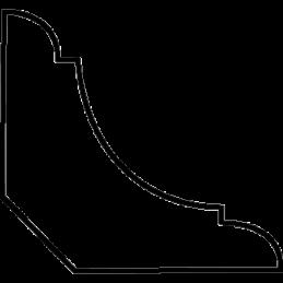 Almueliste 21x21 mm