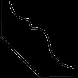Almueliste 47x47 mm