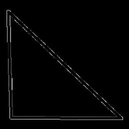 Støbeliste 32x32 mm