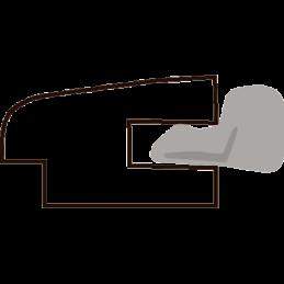 Tætningsl.m/gummi 9x15x3000 mm
