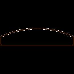 Vægliste 5x21 mm