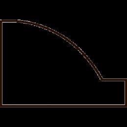 Vægliste 12x18 mm