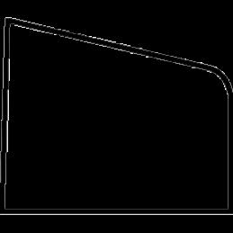 Glasliste 12x15 mm Fyr
